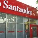 Funcionarios-do-santander-fazem-protesto-contra-demissao-televendas-cobrança